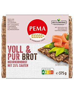 VOLL & PUR BROT 375g