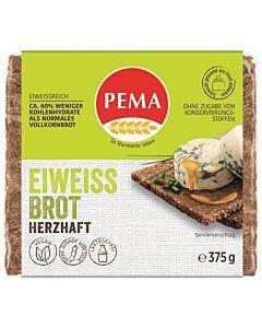 PEMA EIWEISSBROT HERZHAFT MIT SAUERKRAUT 375g